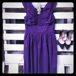Maggy London purple dress